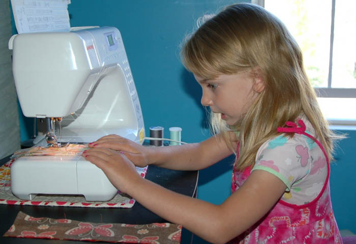 How to Let Kids Love Sewing