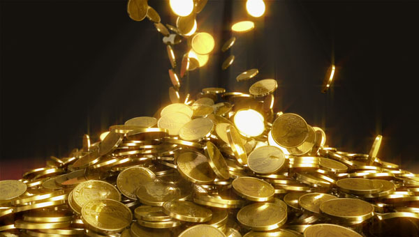 Save Money for a Rainy Day by Collecting Gold Coins
